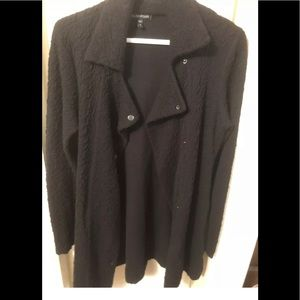Eileen Fisher black jacket xs
